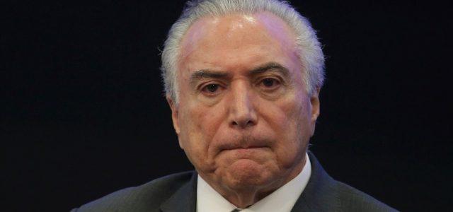 Brasil – Graban a Temer discutiendo sobre pago de sobornos