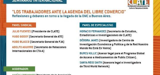 Argentina – Seminario Internacional para entender y enfrentar la llegada de la OMC