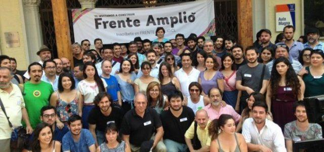Chile – Frente Amplio aún no define ingreso de grupos que apoyan a Mayol