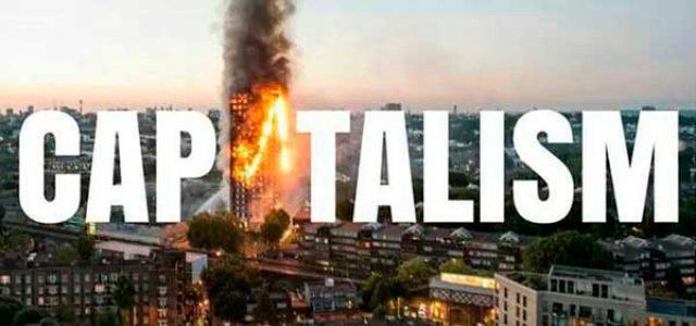 Gran Bretaña – Incendio de la Torre Grenfell en Londres • Los recortes matan