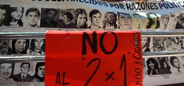 Argentina: masiva respuesta al 2×1 ¡Nunca más genocidas sueltos! ¡30.000 desaparecidos presentes!