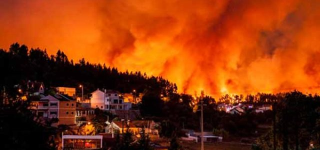 Incendios en Portugal · Los recortes y el lucro privado matan