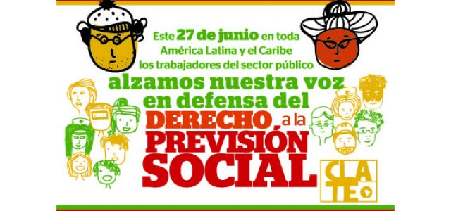 Argentina – CLATE presenta su campaña en defensa del derecho a la previsión social