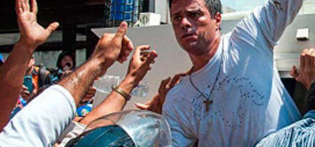 ¡Leopoldo López insta a los militares a dar un golpe de Estado en Venezuela!