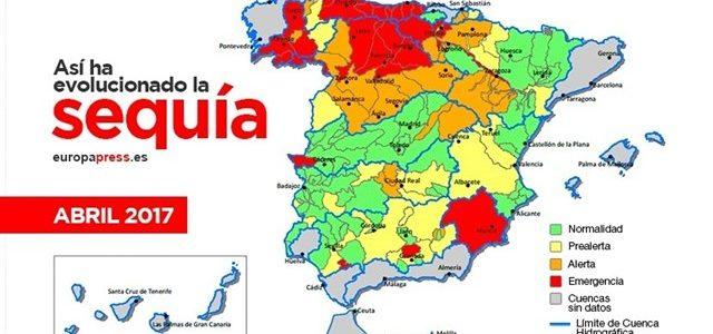 La sequía que afecta España