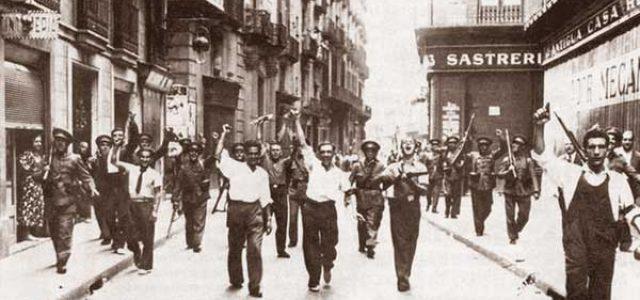 82º Aniversario de la guerra civil española • Revolución y contrarrevolución