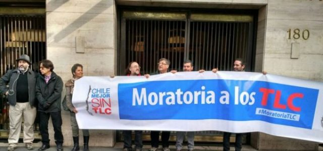 Chile Mejor sin TLC lanzó campaña de Moratoria a los Tratados de Libre Comercio