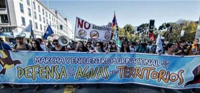 Chile – Movimiento por el agua y los territorios entrega pleno respaldo a Colectivo Mapuexpress ante querella