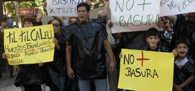Chile – Basta de abusos y atropellos, Til Til somos todos.