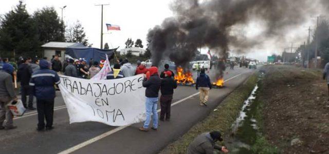 Chile – Aserradero de Victoria se declara en quiebra y deja sin pago a 270 trabajadores