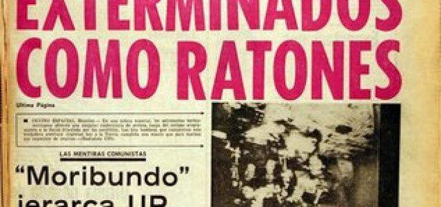 Chile – Operación Colombo: Condenan a ex agentes DINA por desaparición de mirista en 1974.