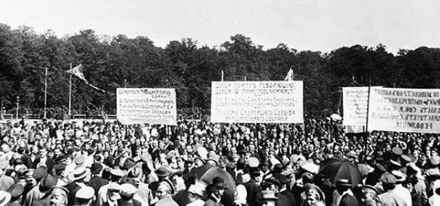 A cien años de la Revolución de Octubre • Las Jornadas de Julio