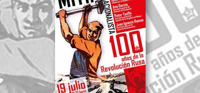 Estado Español – Barcelona: Mitin Internacionalista en defensa de la Revolución Rusa