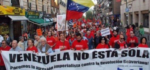 MANIFIESTO DESDE CHILE EN SOLIDARIDAD CON EL PUEBLO BOLIVARIANO DE VENEZUELA