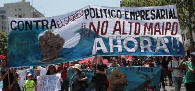 Aes Gener oculta información que compromete viabilidad ambiental de Alto Maipo
