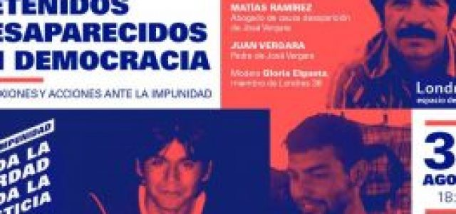 Conversatorio: Detenidos Desaparecidos en Democracia