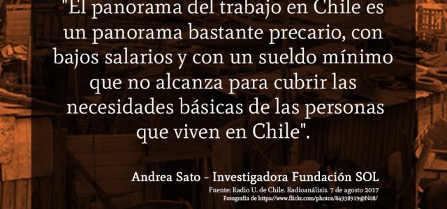 Chile – Estudio  «Pobreza y fragilidad del modelo chileno»