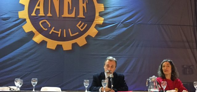 Chile – Video:  Luis Mesina en XX Asamblea ANEF 2017