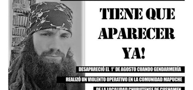 Argentina / Wallmapu – Santiago Maldonado se lo llevó Gendarmería tras allanar el Lof en Resistencia de Cushamen y aún no aparece