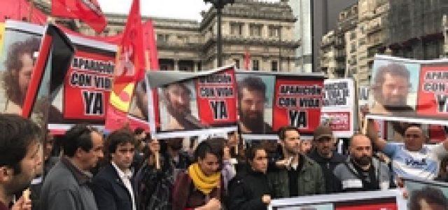 Argentina – Acto en Congreso por la aparición con vida de Santiago Maldonado