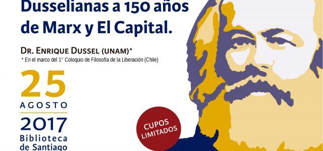 Chile –  V Seminario Los Marxismos en el Siglo XXI,  viernes 25 de agosto