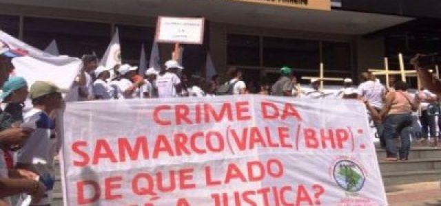 Protestan contra inacción de la justicia por desastre ambiental en Brasil