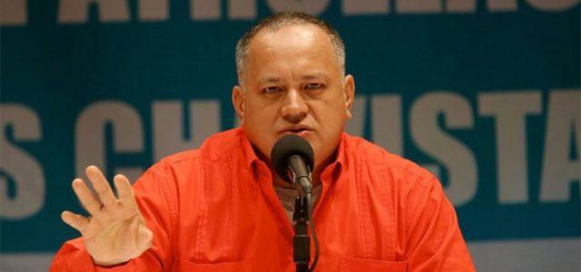 "Venezuela –  Diosdado Cabello denuncia ataque ""terrorista"" al Fuerte Paramacay"