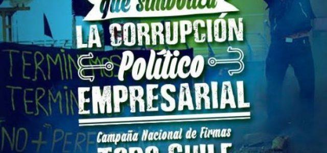 Chile – VIDEO:  campaña para anular Ley Longueira en Santiago