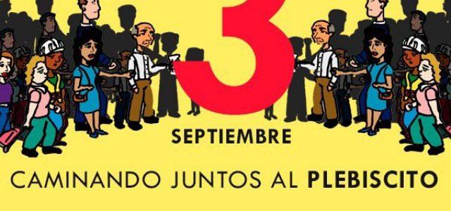 Chile –  Marcha NO + AFP del 3 de Septiembre de 2017