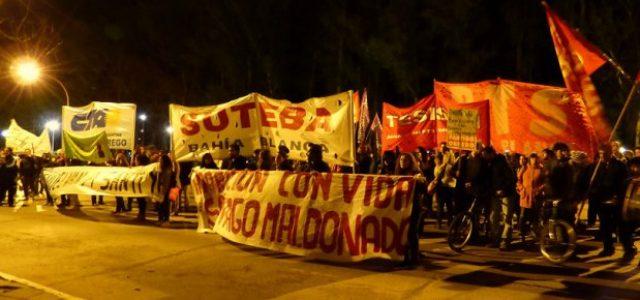 Argentina – ¡Yo sabía que a Santiago se lo llevó Gendarmeria!: Nueva movilización en Bahía Blanca