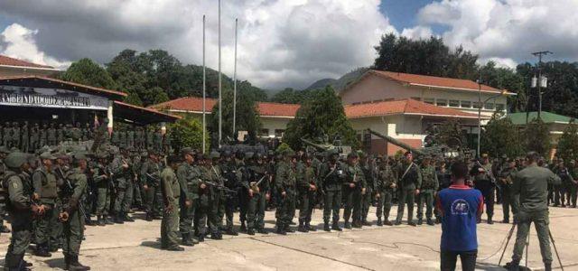 Venezuela –Gobierno sofoca rebelión militar