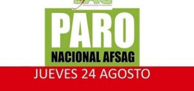 Chile – Trabajadores del SAG irán a paro