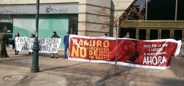 Chile. Protestan contra fallo de la Corte de Apelaciones que castiga a Mauricio Hernández Norambuena