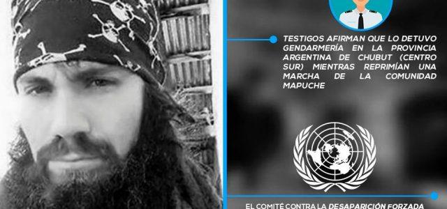 Argentina -POR LA APARICION CON VIDA DE SANTIAGO MALDONADO