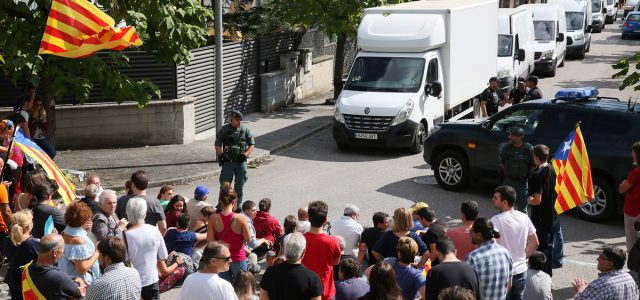 Catalunya – La Guardia Civil incauta nueve millones de papeletas del referéndum en Bigues i Riells