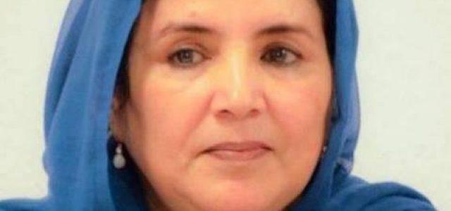Desde Chile Solidaridad con Jadiyetu embajadora saharaui