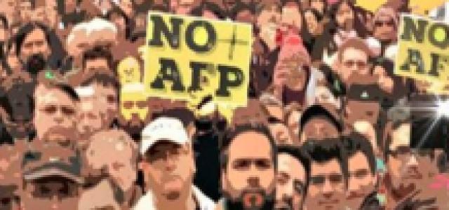 Chile – Antofagasta: Así se vivió la masiva marcha contra las AFP y a favor de un sistema público de pensiones