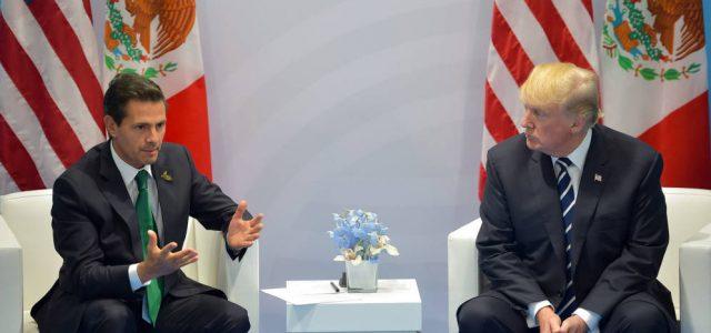 México/Estados Unidos –Peña Nieto a merced de Trump en la renegociación del TLCAN