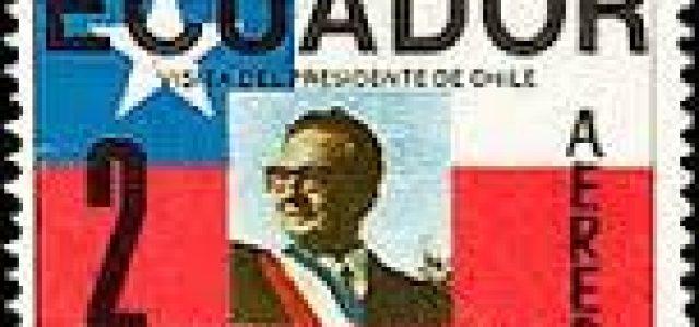 Homenaje a Salvador Allende del PS Ecuador