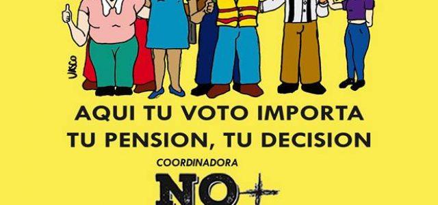 Chile – Todas las fuerzas para el éxito del plebiscito NO + AFP