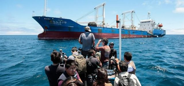 El asedio de China a las Islas Galápagos