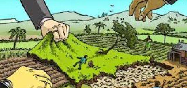 América Latina –Guerra de despojo territorial y acaparamiento de tierras