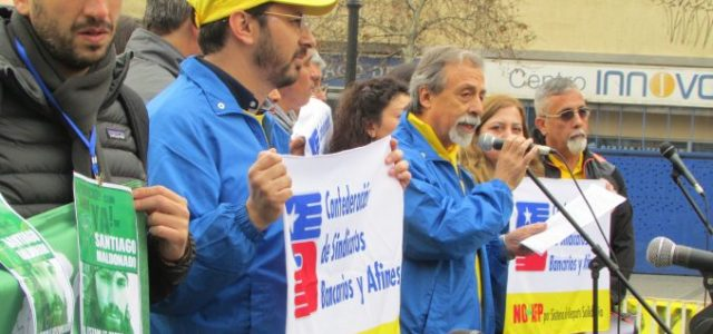 Chile – Discurso Central Marcha NO+AFP en Santiago.