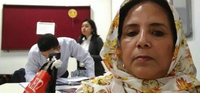 Denuncian que embajadora  Saharaui lleva 18 horas detenidas en el aeropuerto internacional de Perú
