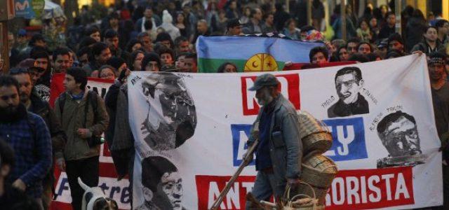Chile – En Concepción marcharon por los comuneros mapuche en huelga de hambre