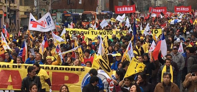 """Chile – """"No Más AFP"""" llama a participar en plebiscito y apuesta por huelga general"""