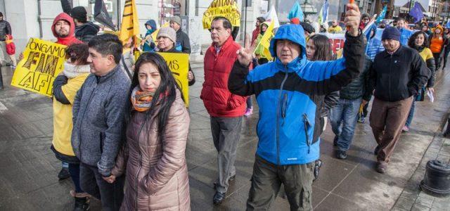 Punta Arenas: Protesta NO + AFP 3 de septiembre de 2017