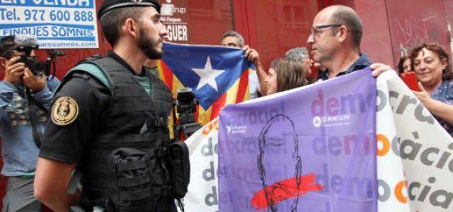 ¡El Govern catalán encarcelado! ¡El régimen del 78 pretende acabar con la democracia en Catalunya!