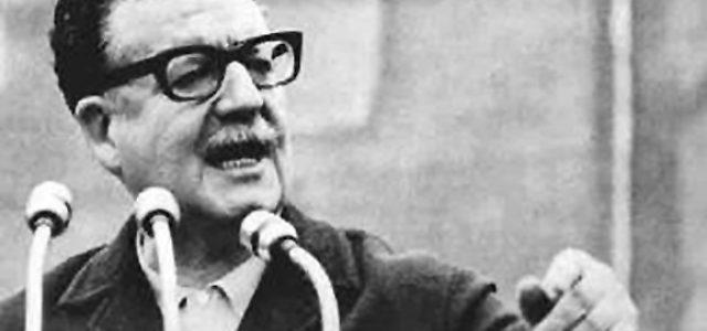 Saludo al Homenaje a Salvador Allende de Julio A Louis del Uruguay
