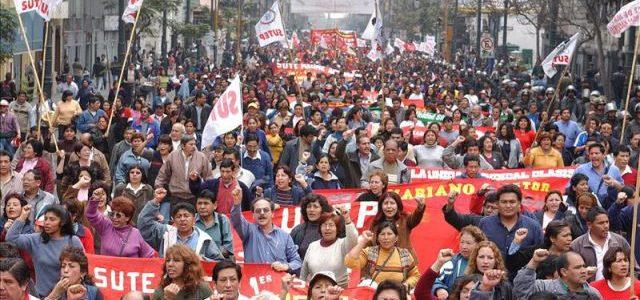 Perú – Una huelga ejemplar por la educación